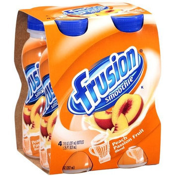 Frusion Peach Passion Fruit Blend Smoothies, 1.75 pt, 4ct