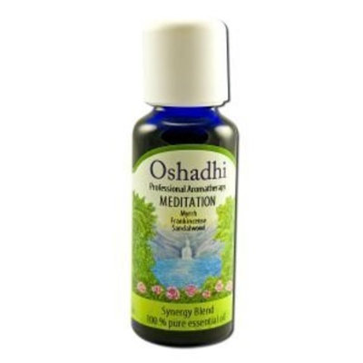 Oshadhi Meditation 30 Ml Synergy Blends