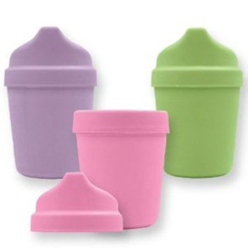 green sprouts by i play. Sprout Ware Cup w/ Travel Lid - Girl - 5 oz - 3 ct