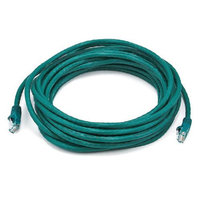 Monoprice 20FT 24AWG Cat6 550MHz UTP Bare Copper Ethernet Network Cable - Green