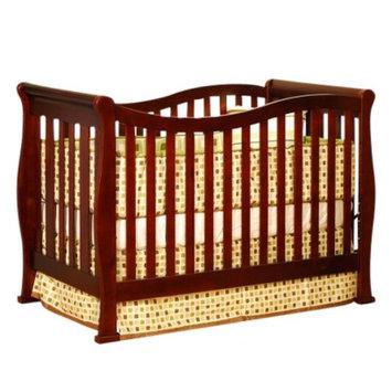 Athena Mikaila Zoe 3-in-1 Convertible Crib - Cherry