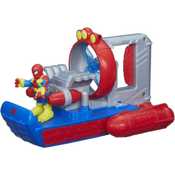 SUPER HERO ADVENTURE Playskool Heroes Marvel Super Hero Adventures Web Splash Spider Boat