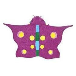 Kidorable Butterfly Infant Towel - Purple - 0-3 Years
