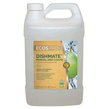 EARTH FRIENDLY PRODUCTS PL9720/04 Manual Dishwashing Liquid,1 gal, Pea