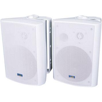 TIC Corporation ASP120-W Indoor/Outdoor 120W Speakers, White