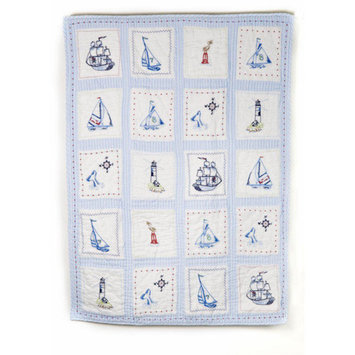 Whistle and Wink High Seas Crib Quilt