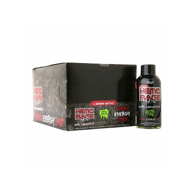 Nutrex Research Hemo Rage Black Ultra Energy Shots