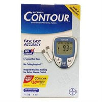 Ascensia Contour Blood Glucose Monitoring System -1 Kit