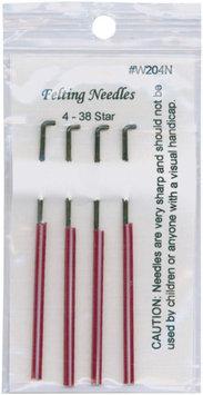 Sentron Felting Needles 4/Pkg-Size 38 Star