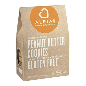 Aleia's Gluten Free Foods Cookies, Peanut Btr, Gf, 9 Ounce (Pack of 6)