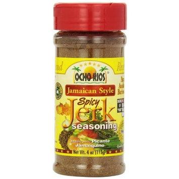 Ocho Rios Seasoning Spicy Jerk, 4 - Ounce (Pack of 6)