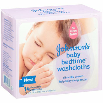 Johnson's® Baby Bedtime Disposable Washcloths