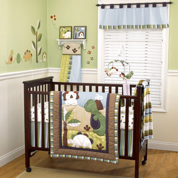 CoCaLo CoCo & Company Chomp N Stomp 4-Piece Crib Bedding Set Collection Value Bundle