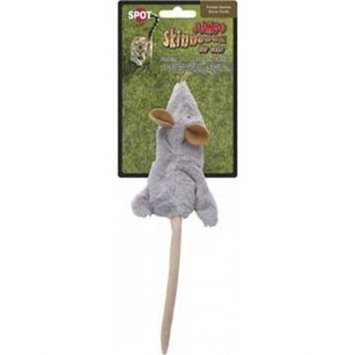 Ethical Skinneeez Mouse 12-Inch Cat Toy