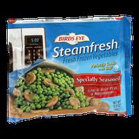 Birds Eye Steamfresh Specially Seasoned Garlic Baby Peas & Mushrooms