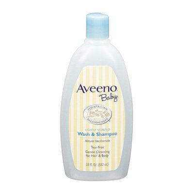 Aveeno Lightly Scented Wash & Baby Shampoo