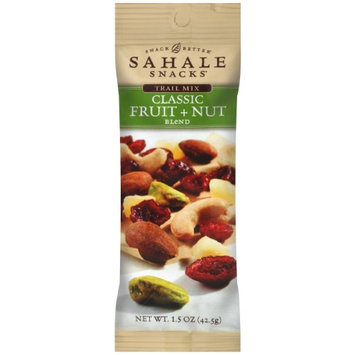 Sahale Snacks Trail Mix - Classic Fruit and Nut Blend - 1.5 oz, (Pack of 9)