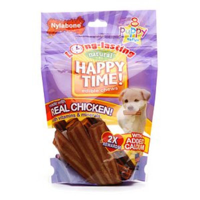 Nylabone Happy Time! Natural Edible Puppy Chews