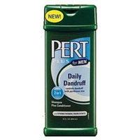 Pert Plus for Men 2-in-1 Shampoo + Conditioner, Daily Dandruff, 12 oz