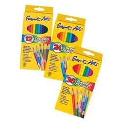 Sargent Art SAR227236 Sargent Art Colored Pencils 36- Colors