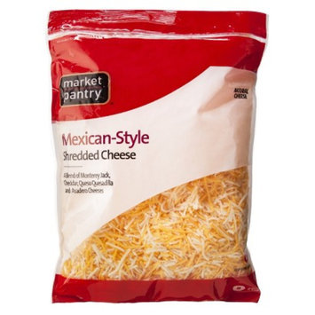 Market Pantry Shredded Mexican Style Four Cheese Blend - 32 oz.