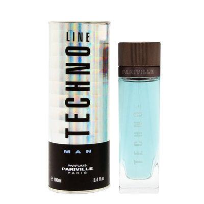 Techno Line Man by Parfums Pariville EDP Spray