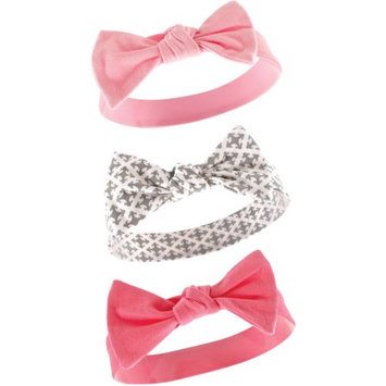 Yoga Sprout Newborn Baby Girls Headband 3-Pack - Royal