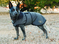 Professional's Choice Professionals Choice Dog Jacket Large Charcoal/Black