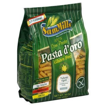 Sam Mills Pasta D'Oro Tubetti Rigati - 16 oz