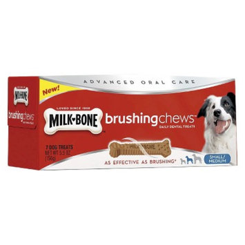 Milk-Bone Milk Bone Brushng Chews Dog Treats - Small/Med (7 Count)