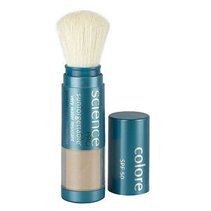 Colorescience SPF 50 Brush Sunforgettable Mineral Powder Sun Protection