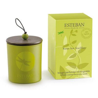 Esteban Sous Les Feuilles Refillable Scented Decorative Candle