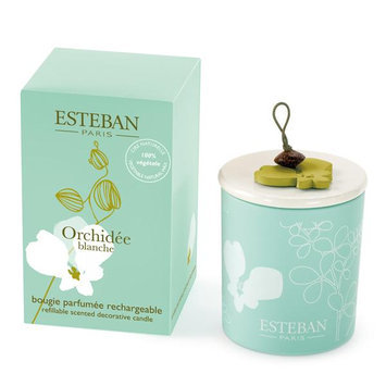 Esteban Orchidee Blanche Scented Decorative Candle Refillable