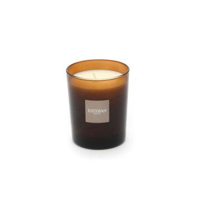 Esteban Ebene et Cuir Scented Decorative Candle Refillable