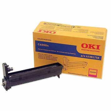 Oki Data OKIDATA 43381758 Image Drum For C6000n and C6000dn Printers Magenta