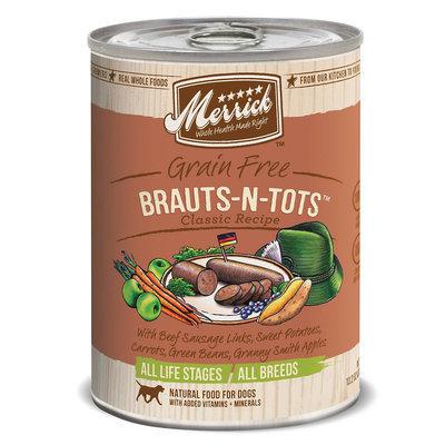 Merrick Pet Food MP21672 Merrick Grain Free Brauts-N-Tots 12-13 oz.