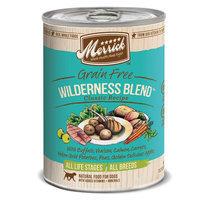 Merrick 5 Star Wilderness Blend 13.2 oz Canned Dog Food 12 ct Case