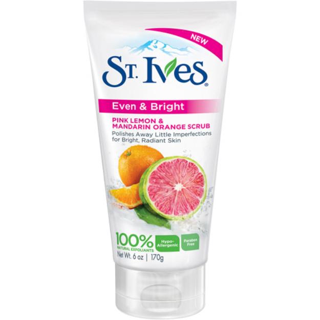 St. Ives Pink Lemonade + Mandarin Facial Scrub