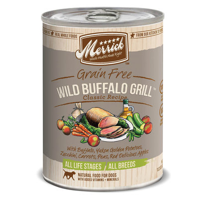 Merrick Pet Food MP21665 Merrick Wild Buffalo Grill 12-13oz.