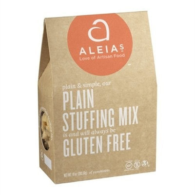 Aleia's Stufing Mix, Plain, Gf, 12 oz (pack of 6 ) ( Value Bulk Multi-pack)