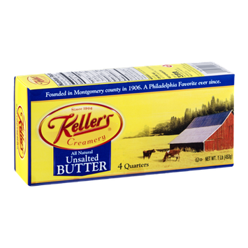 Keller's Creamery Unsalted Butter - 4 CT