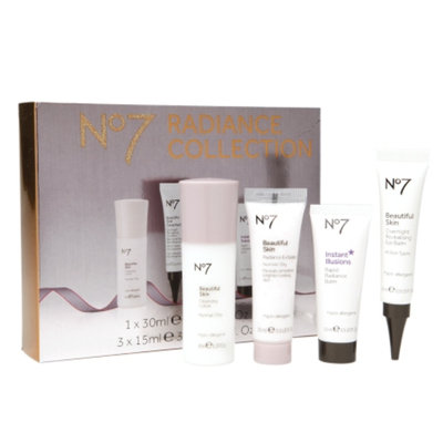 Boots No7 Radiance Collection