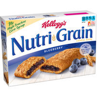 Nutri-Grain Kellogg's  Blueberry Cereal Bars 8 pk