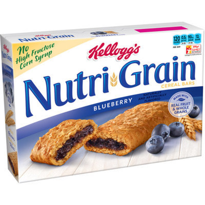 Kellogg's® Nutri-Grain® Cereal Bars Blueberry