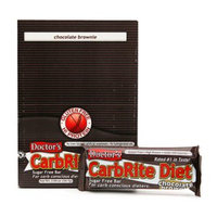 Doctor's CarbRite Diet Sugar Free Bar 12 pack Chocolate Brownie