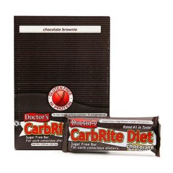 Doctor's CarbRite Diet Sugar Free Bar 12 pack Chocolate Brownie