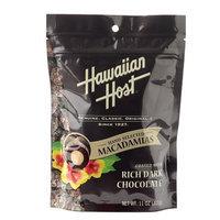 Hawaiian Host Dark Chocolate Macadamia Nuts, Resealable Bag, 11 oz