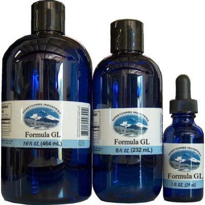 Honeycombs Herbs & Vitamins Liquid Formula GL Extract - Natural Gland Formula