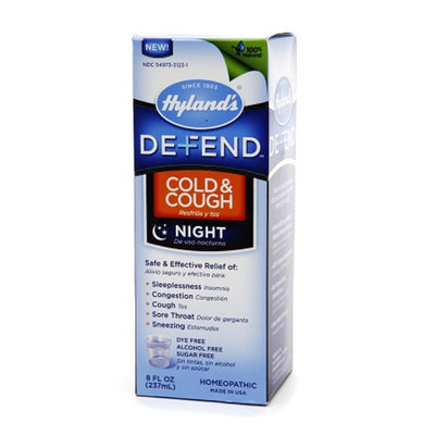 Hyland's Defend Cold & Cough Night