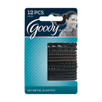 Goody Products Inc. Ouchless Mixed Weave 4mm Braided Elastics, 12 CT